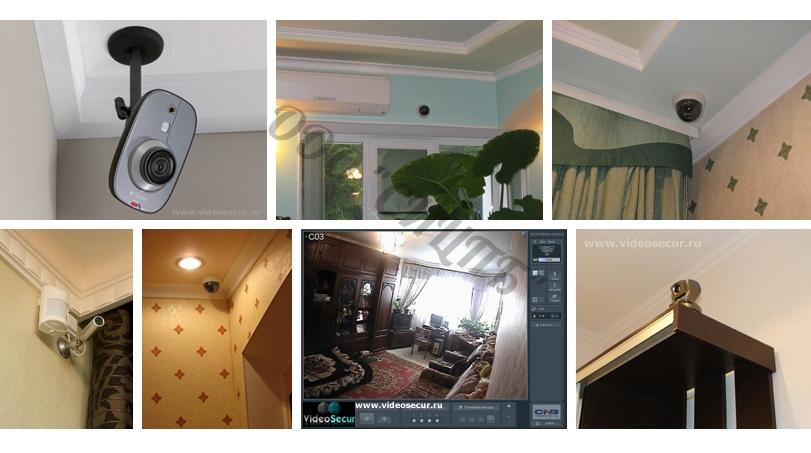 видеонаблюдение-для-квартиры